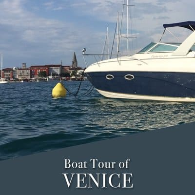 Boat Tour of Venice